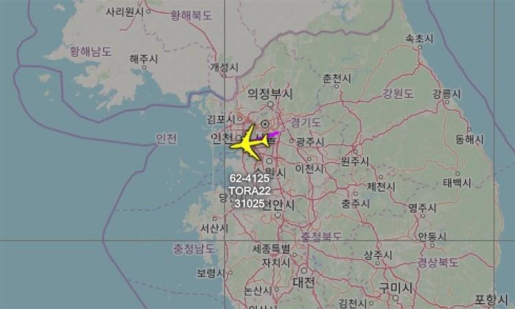 Dữ liệu của Aircraft Spots, trang chuyên theo dõi máy bay trên thế giới, cho thấy các trinh sát cơ RC-135 của Mỹ nhiều lần bay gần Triều Tiên, trong đó có vùng trời phía Nam khu phi quân sự (DMZ) liên Triều.