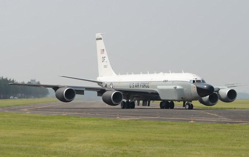 Hiện nay, không quân Mỹ có 15 máy bay trinh sát RC-135, đều thuộc liên đội 55 của Bộ tư lệnh tác chiến đường không Không quân Mỹ.