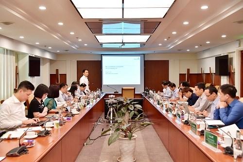 Buổi trình bày kết quả của Nhóm nghiên cứu Kinh tế vĩ mô Vietcombank