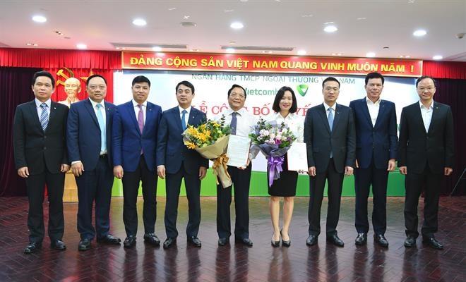Lễ công bố quyết định thành lập Trường Đào tạo và phát triển nguồn nhân lực Vietcombank (tháng 3/2019)