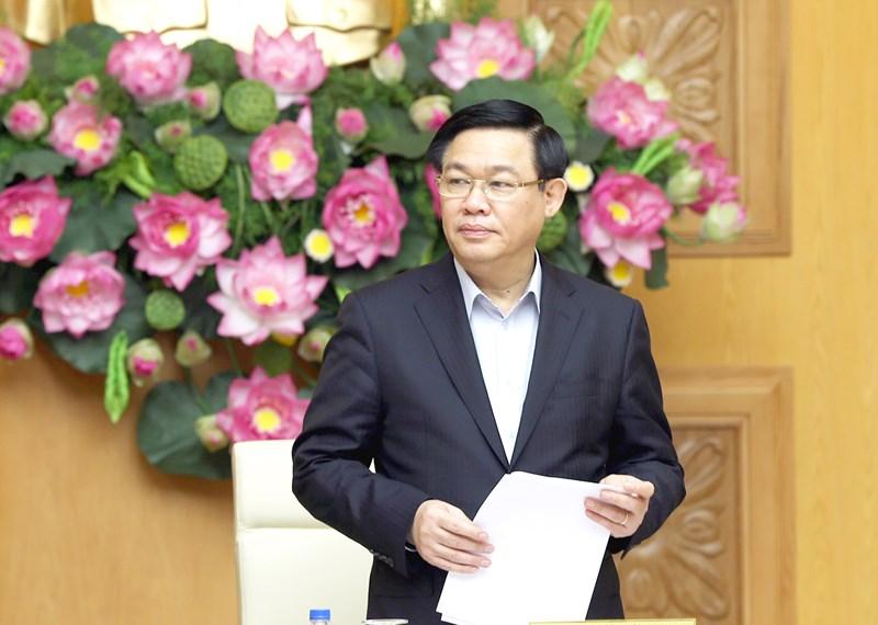 Phó Thủ tướng Vương Đình Huệ đề nghị Bộ Kế hoạch và Đầu tư tập trung xây dựng Đề án có chất lượng, định hướng giải pháp rõ ràng cho lâu dài - Ảnh: VGP/Thành Chung