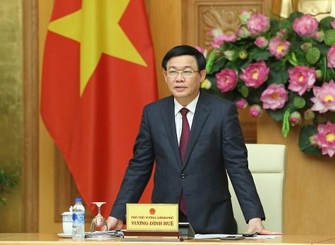 Phó Thủ tướng Vương Đình Huệ, Trưởng Ban Chỉ đạo điều hành giá chủ trì cuộc họp.