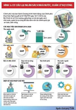 Cải cách chính sách tài chính thúc đẩy cơ cấu lại nền kinh tế Việt Nam - Ảnh 3