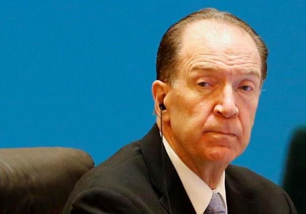 Chủ tịch Ngân hàng Thế giới (WB) David Malpass. (Nguồn: Reuters)