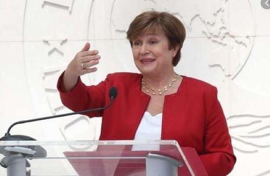 Bà Kristalina Georgieva, Tổng giám đốc Quỹ Tiền tệ Quốc tế.