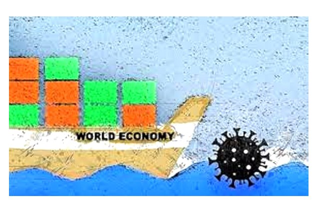 """Dịch Covid-19 được coi là """"cú sốc"""" lớn đối với nền kinh tế thế giới."""