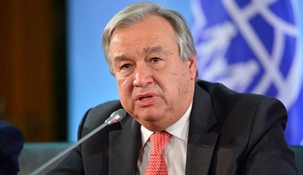 Tổng Thư ký Liên hợp quốc Antonio Guterres. (Ảnh: LHQ)
