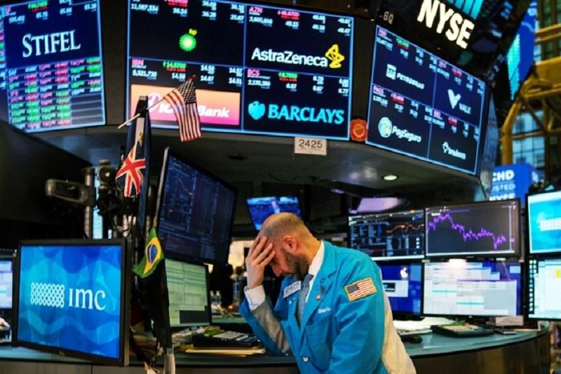 Phố Wall đang trải qua những ngày giao dịch đầy biến động. Ảnh Getty Images.