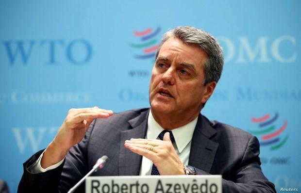 Tổng Giám đốc Tổ chức Thương mại Thế giới (WTO) Roberto Azevedo. (Ảnh: WTO)