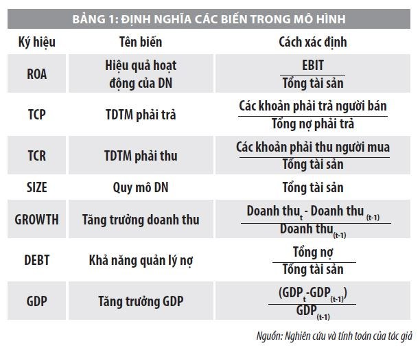 Tín dụng thương mại và hiệu quả hoạt động của các công ty niêm yết ở Việt Nam - Ảnh 1