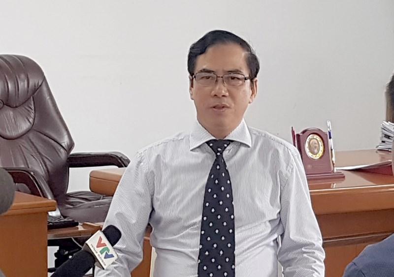 Ông Đặng Ngọc Tuyến - Phó Chánh Thanh tra Bộ Tài chính.