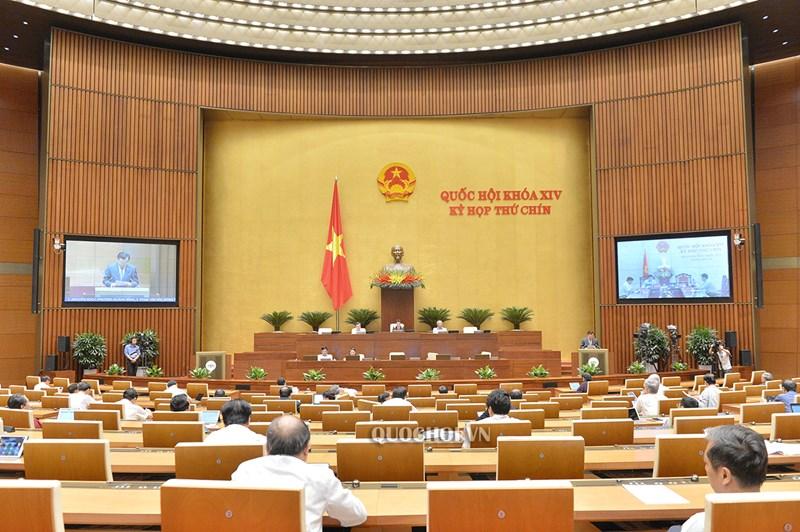 Quang cảnh Kỳ họp Quốc hội.