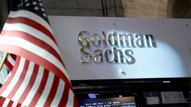Ngân hàng đầu tư Goldman Sachs.
