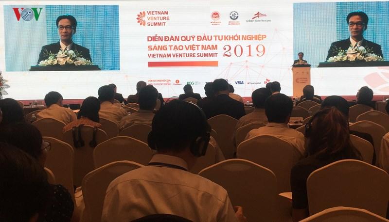 Diễn đàn Vietnam Ventures Summit 2019 lần đầu tiên diễn ra tại Việt Nam đã quy tụ được hơn 100 quỹ đầu tư khởi nghiệp.