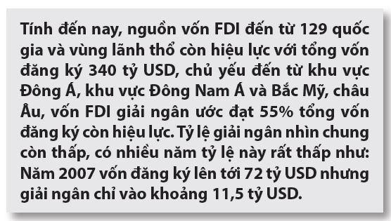 Nâng cao chất lượng thu hút FDI vào Việt Nam trong thời gian tới - nhìn từ góc độ thể chế - Ảnh 3