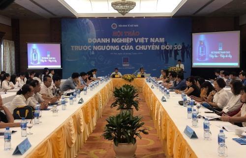 """Doanh nghiệp Việt chỉ """"ăn phần nhỏ"""" trong chiếc bánh doanh thu kinh tế số."""