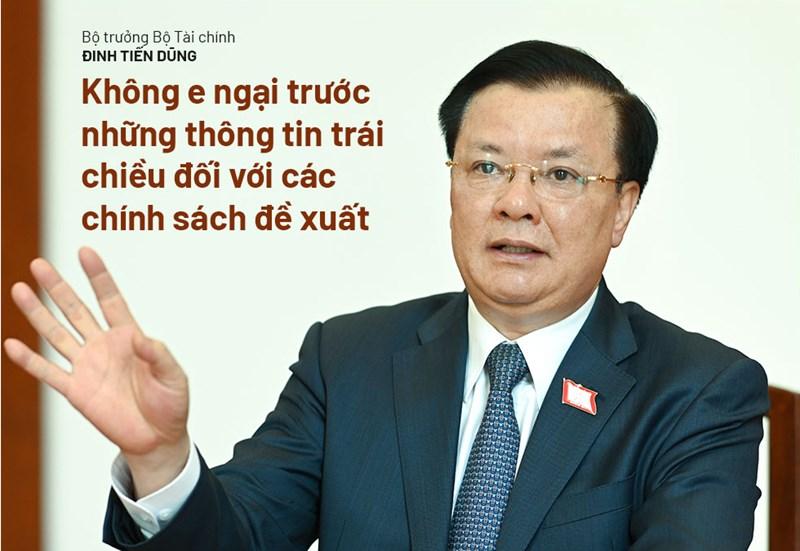 Bộ trưởng Đinh Tiến Dũng: Chính sách tài khóa phải hỗ trợ người dân và thúc đẩy phát triển - Ảnh 4