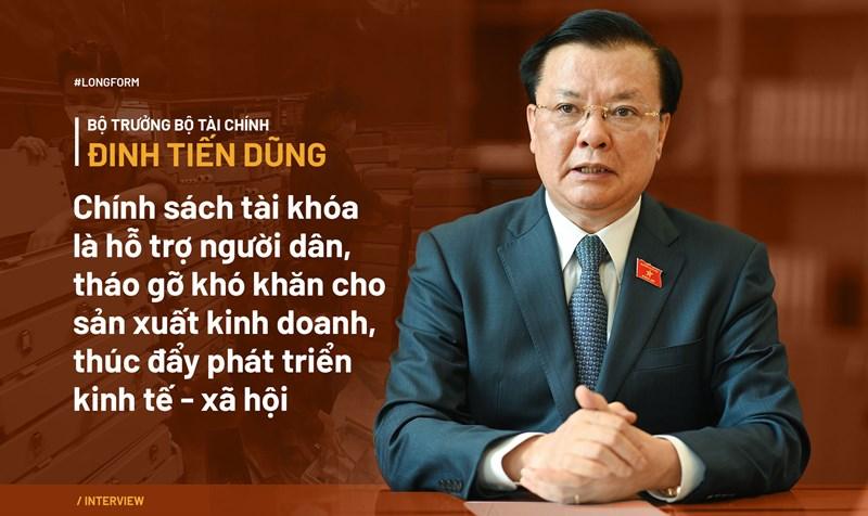 Bộ trưởng Đinh Tiến Dũng: Chính sách tài khóa phải hỗ trợ người dân và thúc đẩy phát triển - Ảnh 1