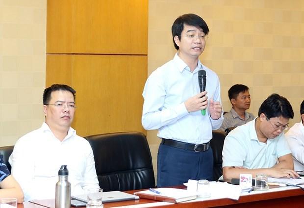 Ông Phạm Tân Tuyến, Vụ trưởng Vụ Tổ chức cán bộ-Bộ Tài nguyên và Môi trường.