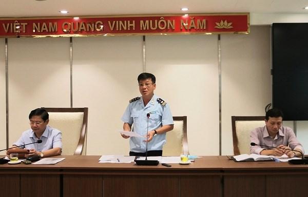 Phó Cục trưởng Cục Hải quan TP. Hà Nội Nguyễn Trường Giang.