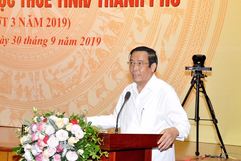 Ông Nguyễn Thanh Bình phát biểu tại hội nghị.