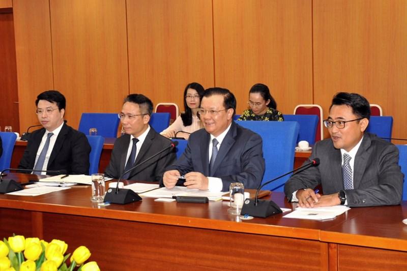 Bộ trưởng Đinh Tiến Dũng đánh giá cao sự hợp tác hiệu quả của WB.