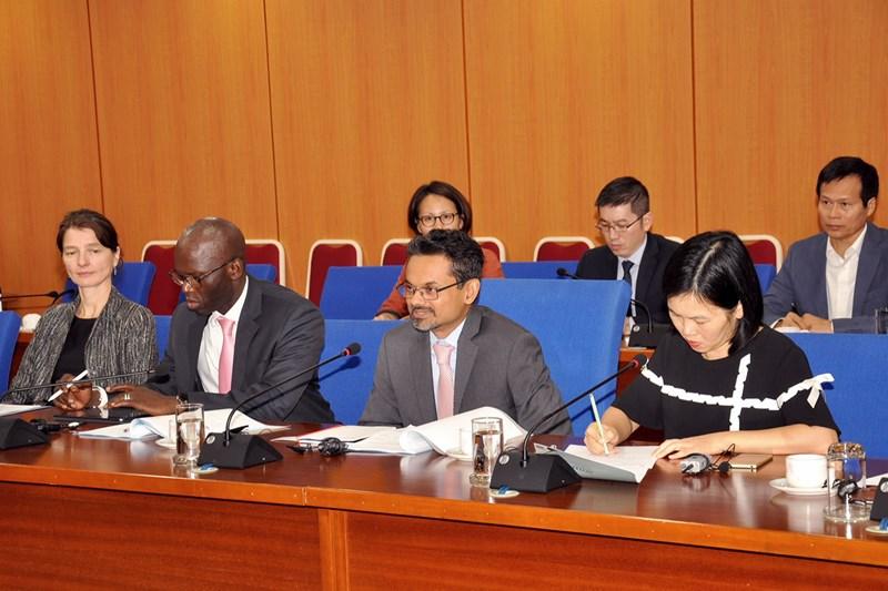 Ông Hassan Zaman khẳng định, WB sẽ tiếp tục có những hỗ trợ, tham vấn chính sách tài chính vĩ mô cho Việt Nam.