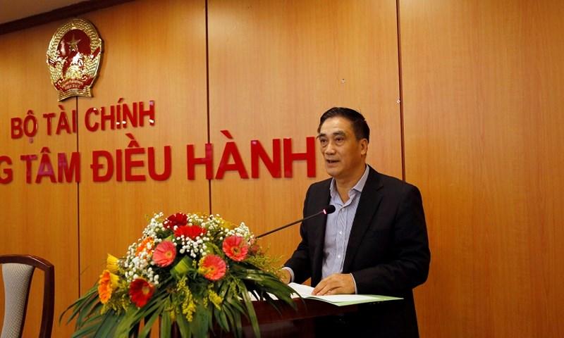 Thứ trưởng Bộ Tài chính Trần Xuân Hà phát biểu khai mạc Hội nghị.