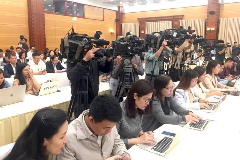 Buổi họp báo với nhiều thông tin quan trọng về tình hình kinh tế - xã hội tháng 10 và 10 tháng đầu năm.