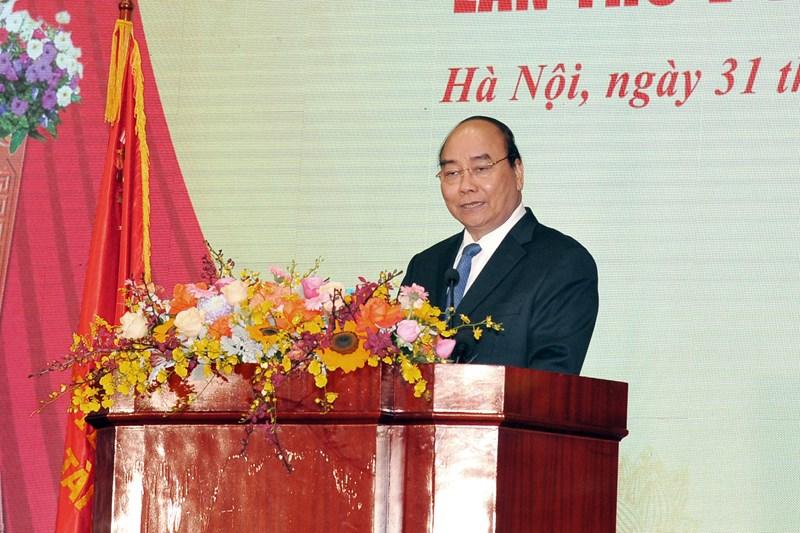 Thủ tướng Chính phủ Nguyễn Xuân Phúc phát biểu chỉ đạo tại Đại hội.