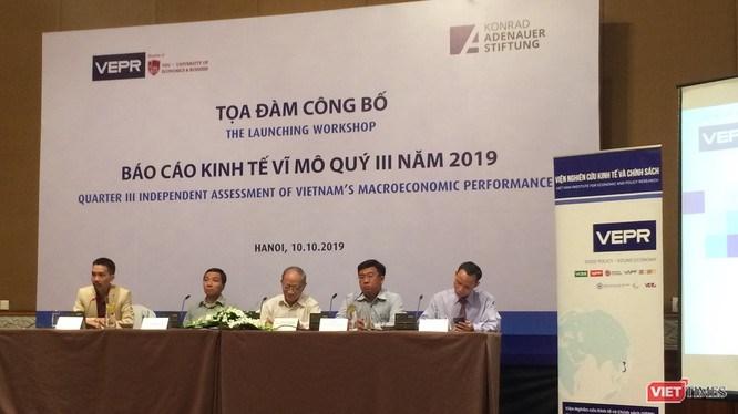 Hội thảo công bố Báo cáo kinh tế vi mô quý III/2019.