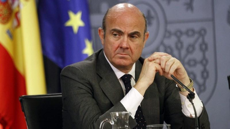 Phó Chủ tịch Ngân hàng Trung ương châu Âu (ECB) Luis De Guindos.