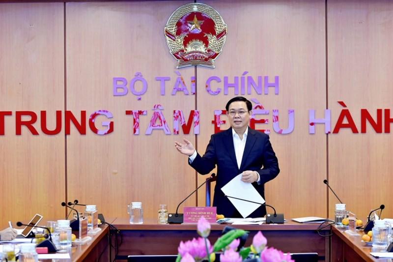 Phó Thủ tướng Vương Đình Huệ chủ trì phiên họp.
