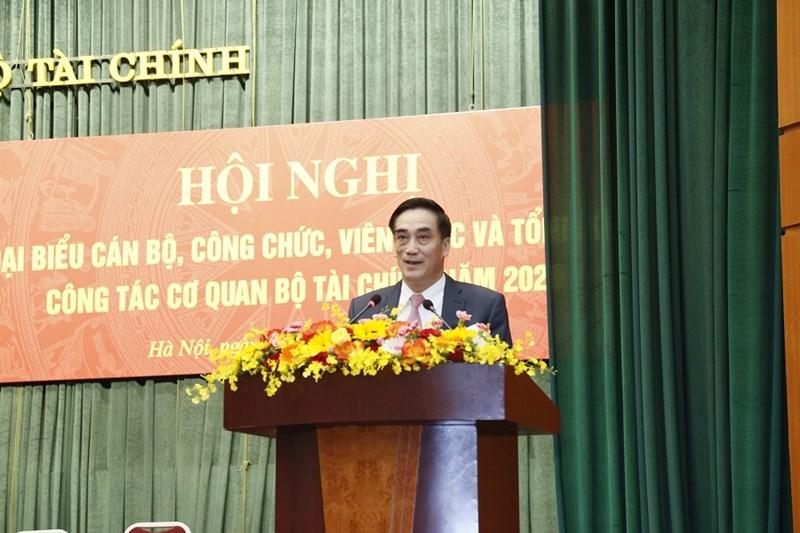 Thứ trưởng Trần Xuân Hà phát biểu chỉ đạo tại Hội nghị