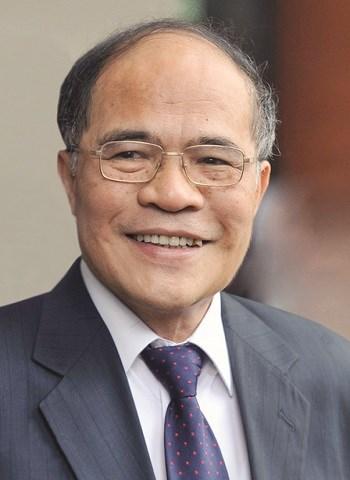 Đồng chí Nguyễn Sinh Hùng