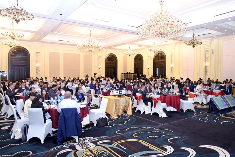 Toàn cảnh Hội nghịtoàn thể Mạng lưới quản lý chi tiêu công tại Châu Á (PEMNA) năm 2019.