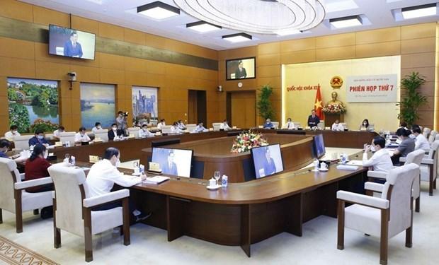 Toàn cảnhPhiên họp thứ 7 Hội đồng Bầu cử quốc gia.
