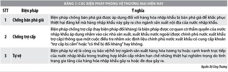 Phòng vệ thương mại của Việt Nam trong bối cảnh tham gia các FTA - Ảnh 1