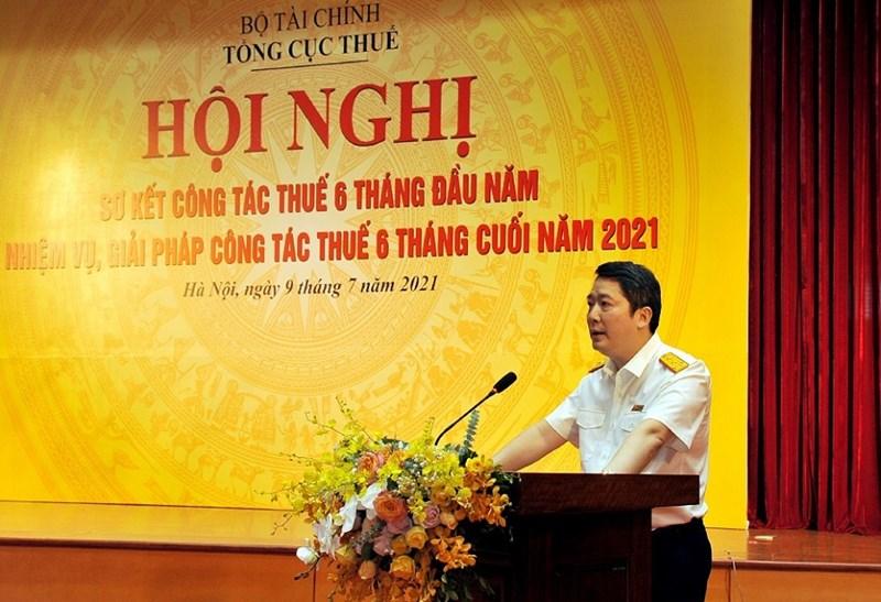 Tổng cục trưởng Cao Anh Tuấn phát biểu tại Hội nghị