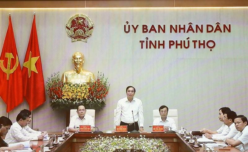 Lãnh đạo tỉnh Phú Thọ khẳng định cam kết, không điều chỉnh chỉ tiêu năm 2020, phấn đấu đạt ở mức cao nhất; phấn đấu giải ngân 100% vốn đầu tư công năm 2020.