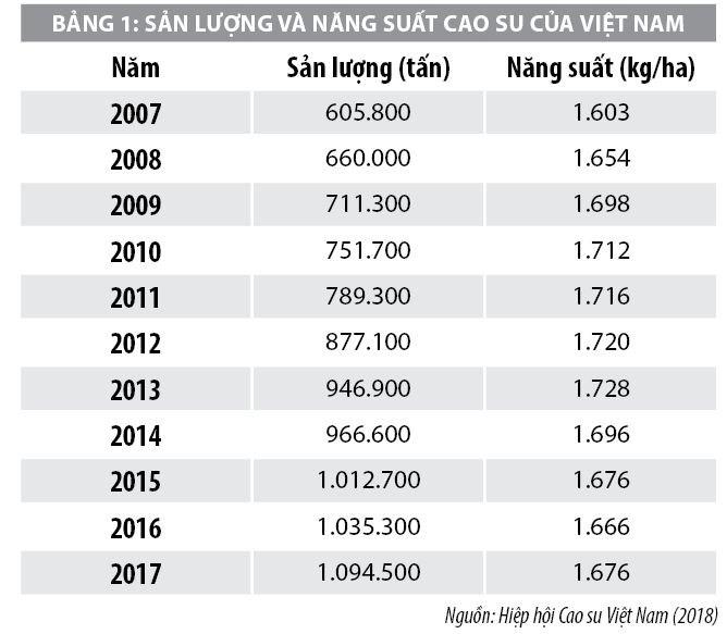 Nâng cao năng lực cạnh tranh của sản phẩm cao su Việt Nam - Ảnh 1