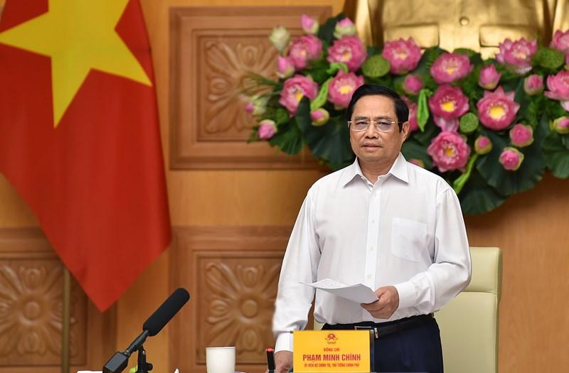 Thủ tướng Phạm Minh Chính khẳng định, Chính phủ Việt Nam luôn sẵn sàng tạo điều kiện và đồng hành để các doanh nghiệp EU đầu tư, kinh doanh thuận lợi tại Việt Nam. Nguồn: chinhphu.vn