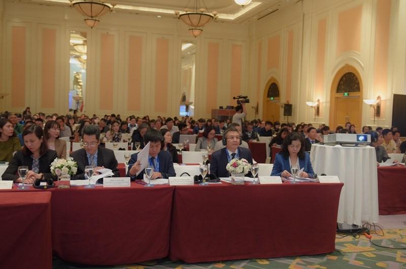 Hội thảo có sự tham gia của các chuyên gia đến từ Hoa Kỳ, Nhật Bản, Liên minh Châu Âu, Hội đồng kinh doanh ASEAN – Hoa Kỳ, Liên minh tạo thuận lợi thương mại toàn cầu, các bộ, ngành có liên quan của Việt Nam.