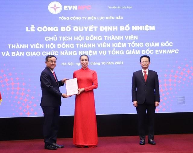 Bà Đỗ Nguyệt Ánh được bổ nhiệm và trở thành nữ Tổng Giám đốc đầu tiên của ngành Điện.