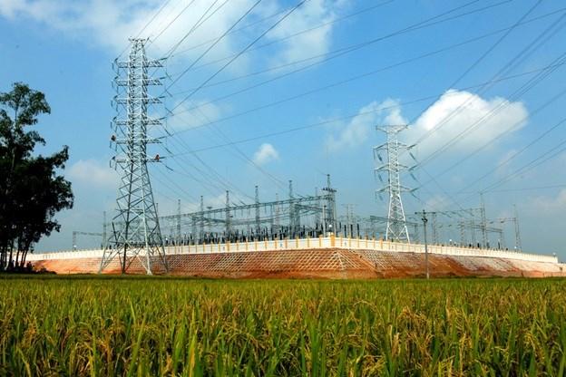 TBA 220kV Phú Binh cấp điện cho Sam sung Thái Nguyên