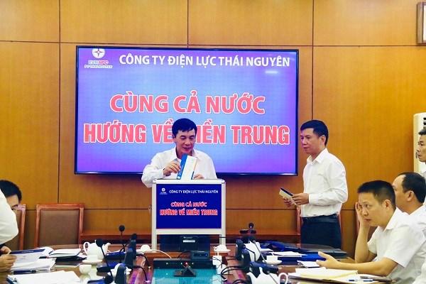 Công ty Điện lực Thái Nguyên ủng hộ