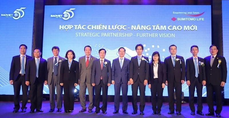 Tập đoàn Bảo Việt và Sumitomo Life ký kết hợp tác chiến lược.