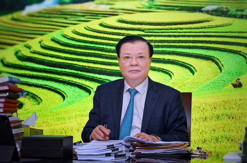 Uỷ viên Bộ Chính trị, Bộ trưởng Bộ Tài chính Đinh Tiến Dũng