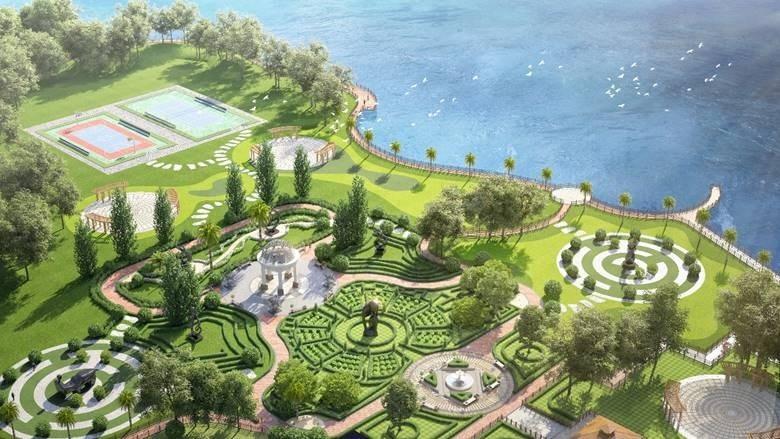 Green Dragon City sở hữu 11,6 ha công viên cây xanh.