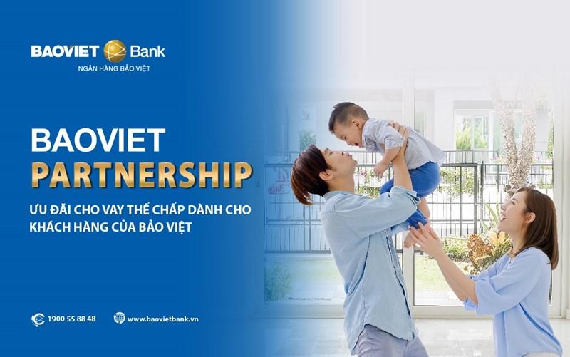 BAOVIET Bankáp dụngchương trìnhBaoviet Partnershipdành chocá nhân là khách hàng của Tập đoàn Bảo Việt và các đơn vị thành viên.